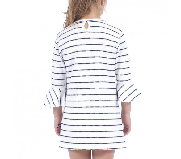 Robes Fille Hublot Mode Marine : LOELIA / Robe fille manches longues