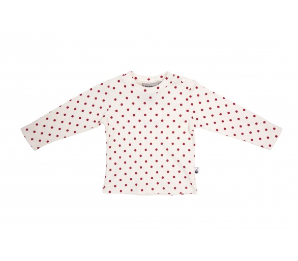 HOLLY / Tee shirt ML pois interlock