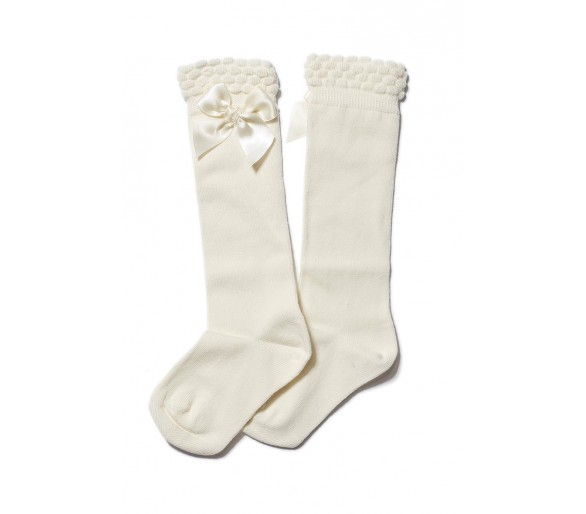 CHAUSSETTES NOEUD SATIN / Chaussettes