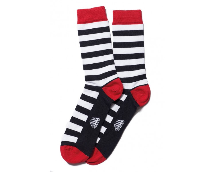 CHAUSSETTES RAYEE LARGE / Chaussettes ad