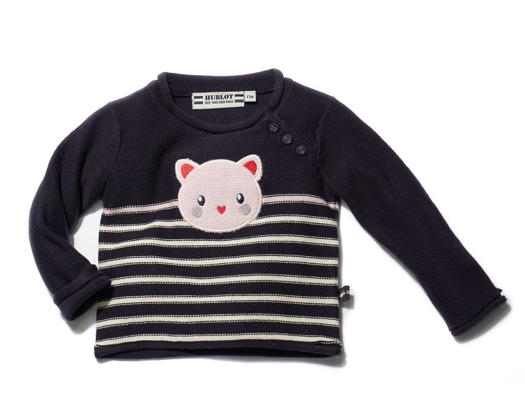 EMORIE / Pull fille col rond