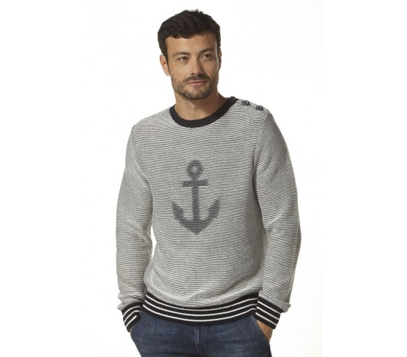 LAPYX / Pull Homme maille jacquard