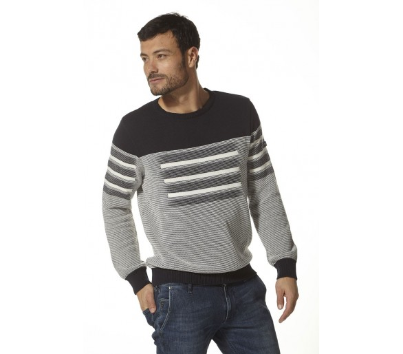 ARMAND / Pull Homme maille jacquard