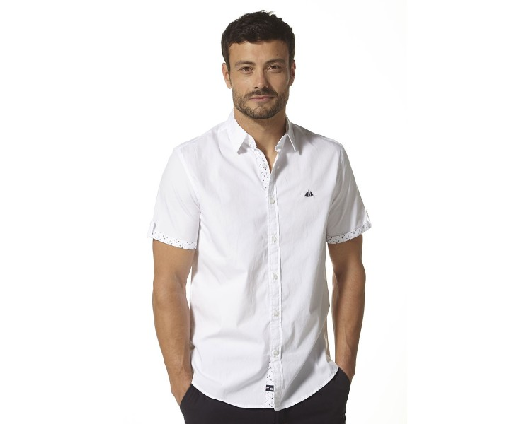 TIMOUR / Chemise Homme manches courtes