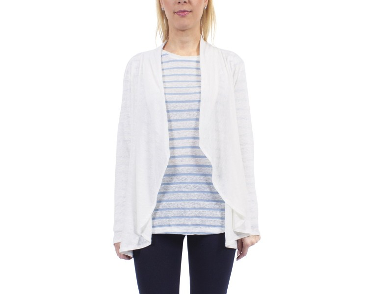 INES / Gilet femme manches longues