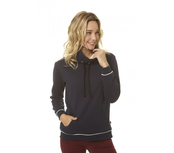 TIPHAINE / Sweat femme col doublé sherpa