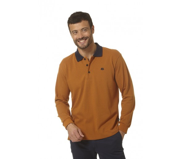 ORLANDO / Polo homme manches longues