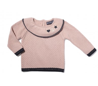 MARINETTE / Pull fille col rond