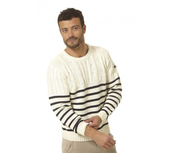 DIONYSOS / Pull homme col rond
