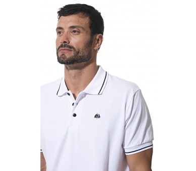 DOMINO / Polo Homme manches courtes