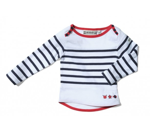 LUPI / Tee-shirt fille manches 3/4