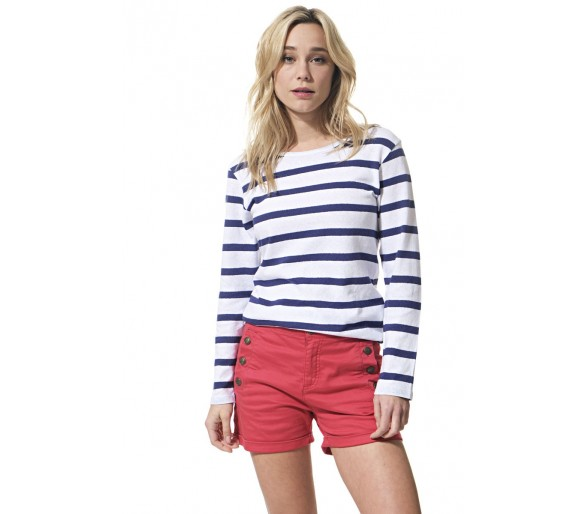 AVRIL / Tee-shirt femme manches longues