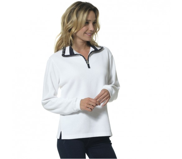 ADELIE / Polo Femme manches longues