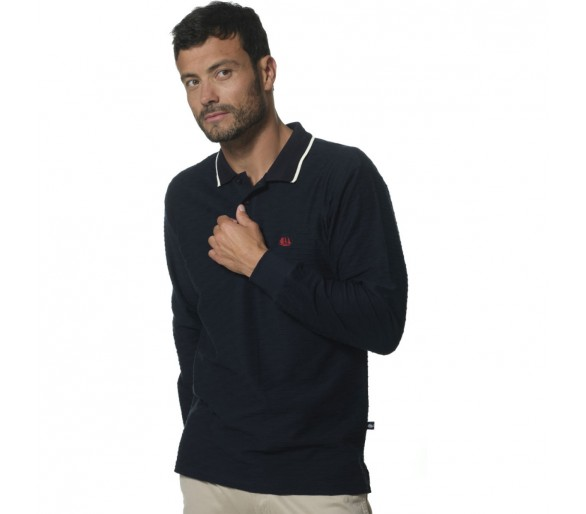 BALTIMORE / Polo Homme manches longues