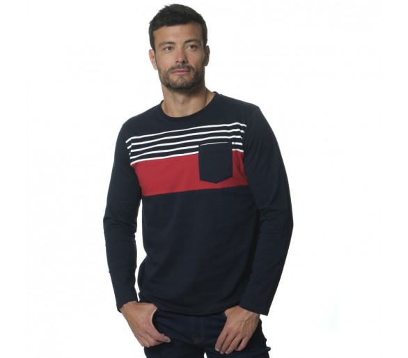 BOSTON / Tee shirt Homme manches longues
