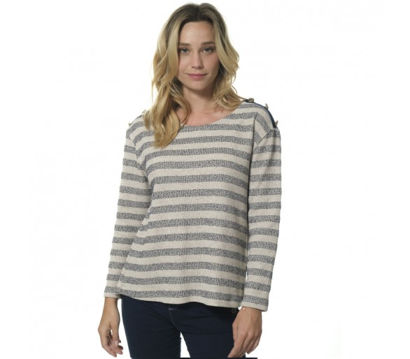 CHARLONE / T shirt femme manches longues