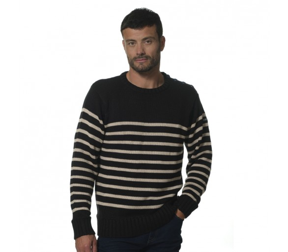 FANFAN / Pull marin H col rond