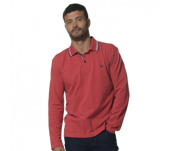 JEREMY / Polo Homme manches longues