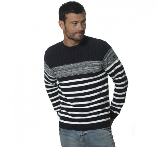 LEONOR / Pull Homme col rond