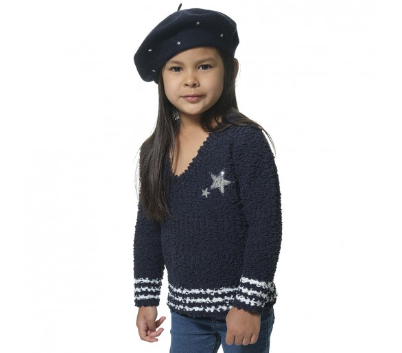 MISHA / Pull fille col rond