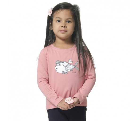 RYTA / Tee shirt fille manches longues