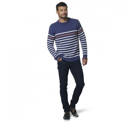 Pulls Homme Hublot Mode Marine : ROBB / Pull homme col rond
