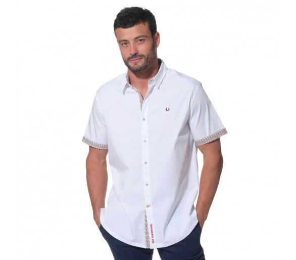 Chemises Homme : STEEVE / Chemise manches courtes