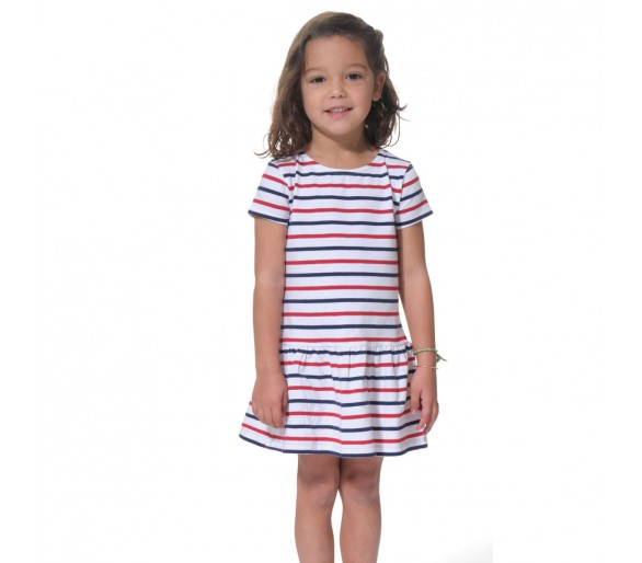 Robes Fille : RYMENF / Robe manches courtes