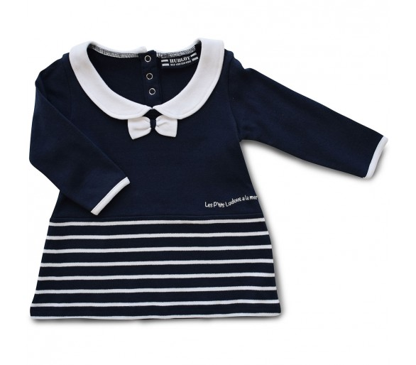 Robes Bebe : POUPINETTELAY / Robe manches longues