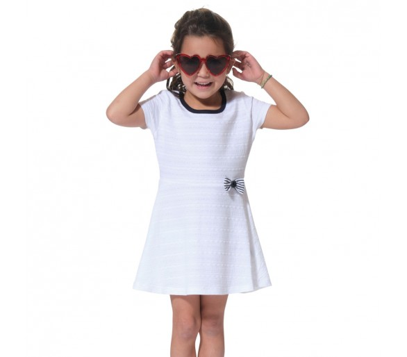 Robes Fille : POUPEEENF / Robe manches courtes