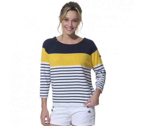 ORCHIDEE / Pull femme col rond