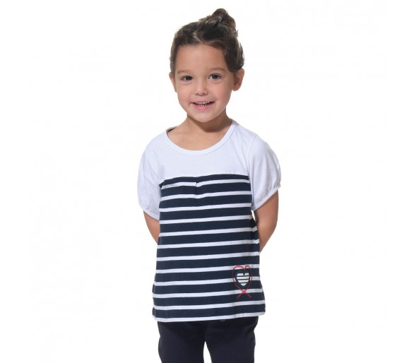 Tee Shirt Manches Courtes Fille : MYAENF / Tee shirt fille manches courtes