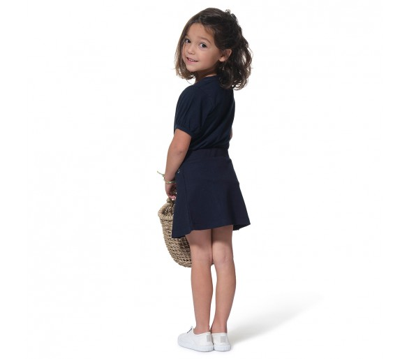Tee Shirt Manches Courtes Fille : LOULIAENF / Tee shirt fille