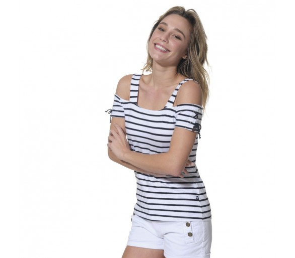 ISALYS / Tee shirt femme manches courtes