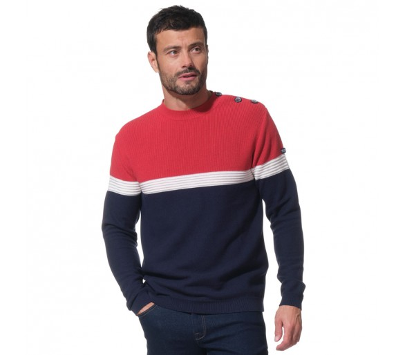 DOUG / Pull homme col rond