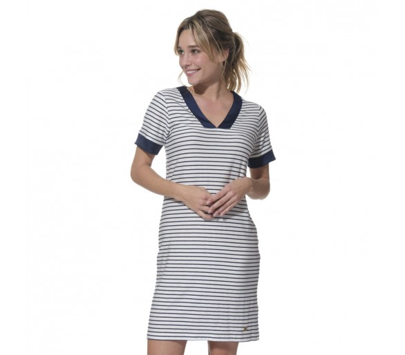 Robes Femme : CYPRIELLE / Robe manches courtes