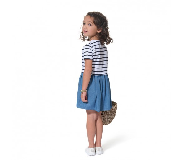 Robes Fille : CERISEENF / Robe manches courtes