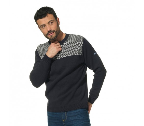 RUSTY / Pull homme col rond