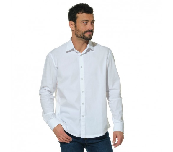 LUTHER / Chemise homme à manches longues