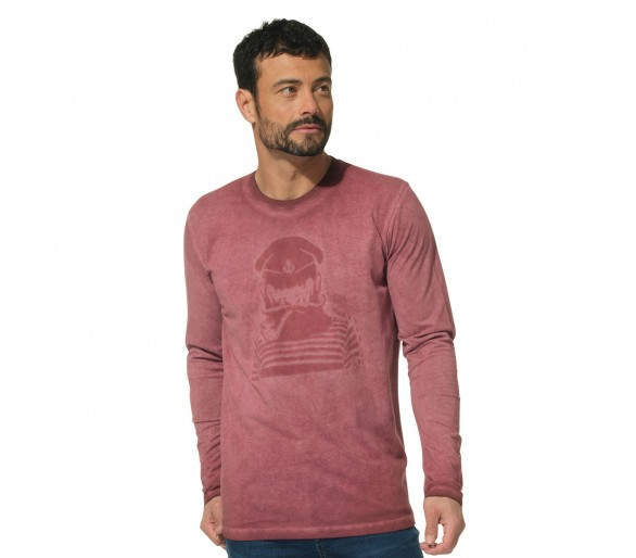 Tee Shirt Manches Longues Homme Hublot Mode Marine : HERPO / Tee-shirt homme col rond