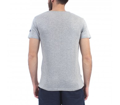 Tee shirt homme manches courtes, col V