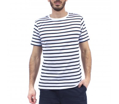 Tee shirt homme manches courte, col rond