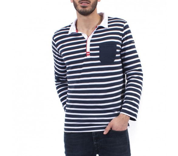 RUDY / Polo homme manches longues